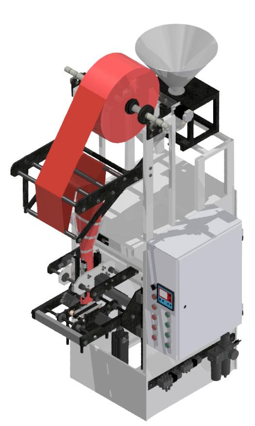 Фасовочный автомат в пакет типа «саше»