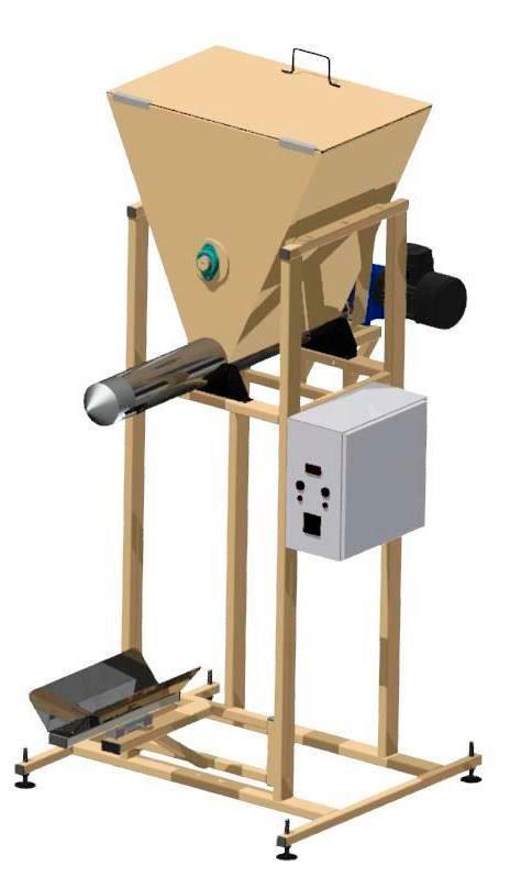 Полуавтомат для упаковки в клапанные мешки