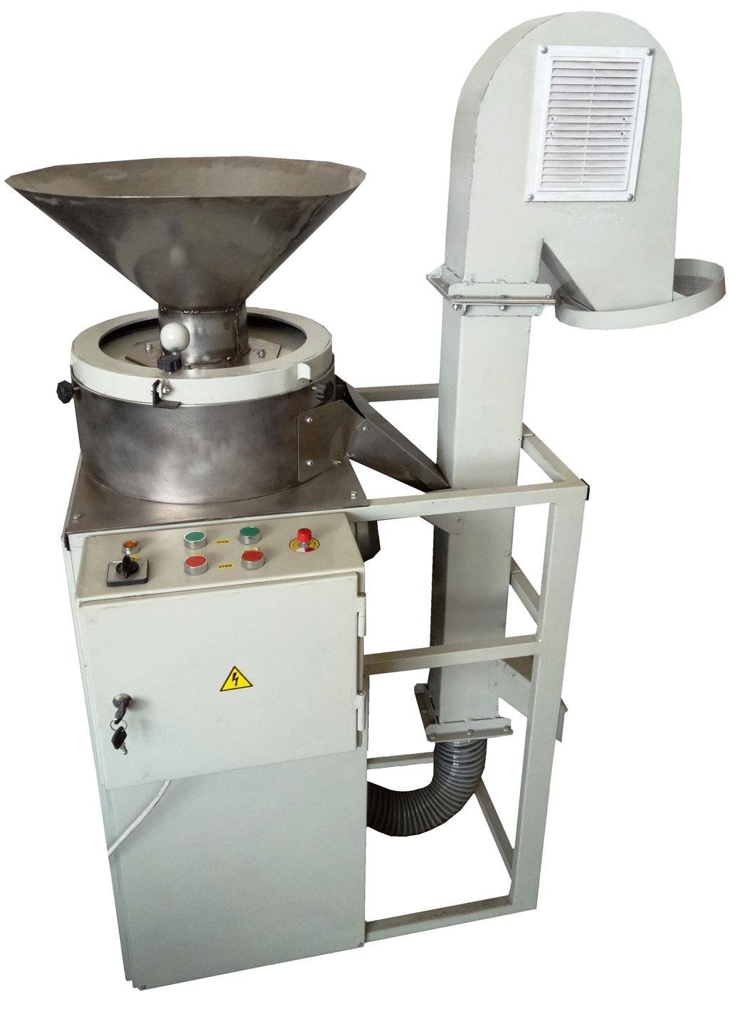 Машина для шелушение арахиса и зёрен кофе
