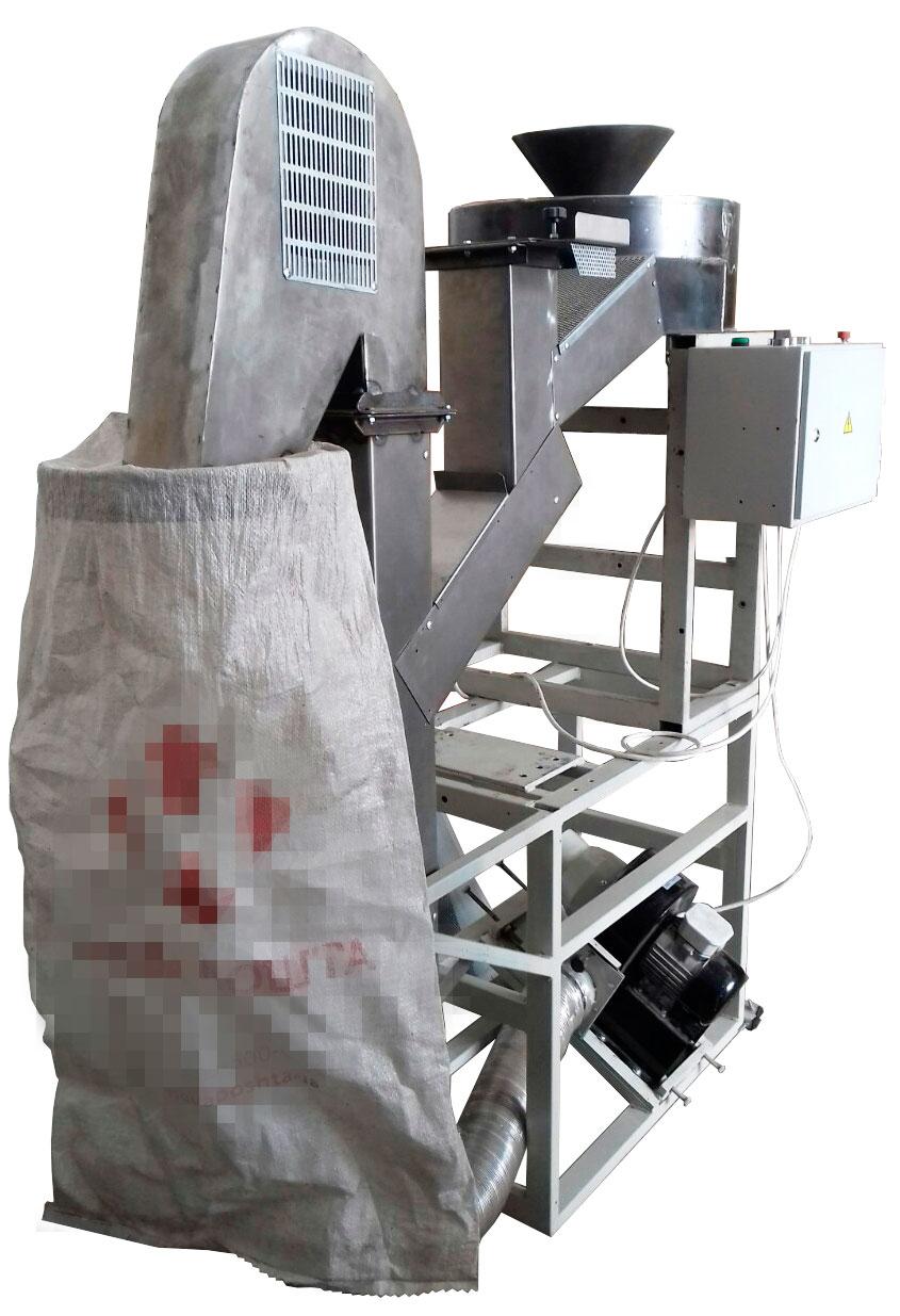 Рушильная машина для подсолнечника
