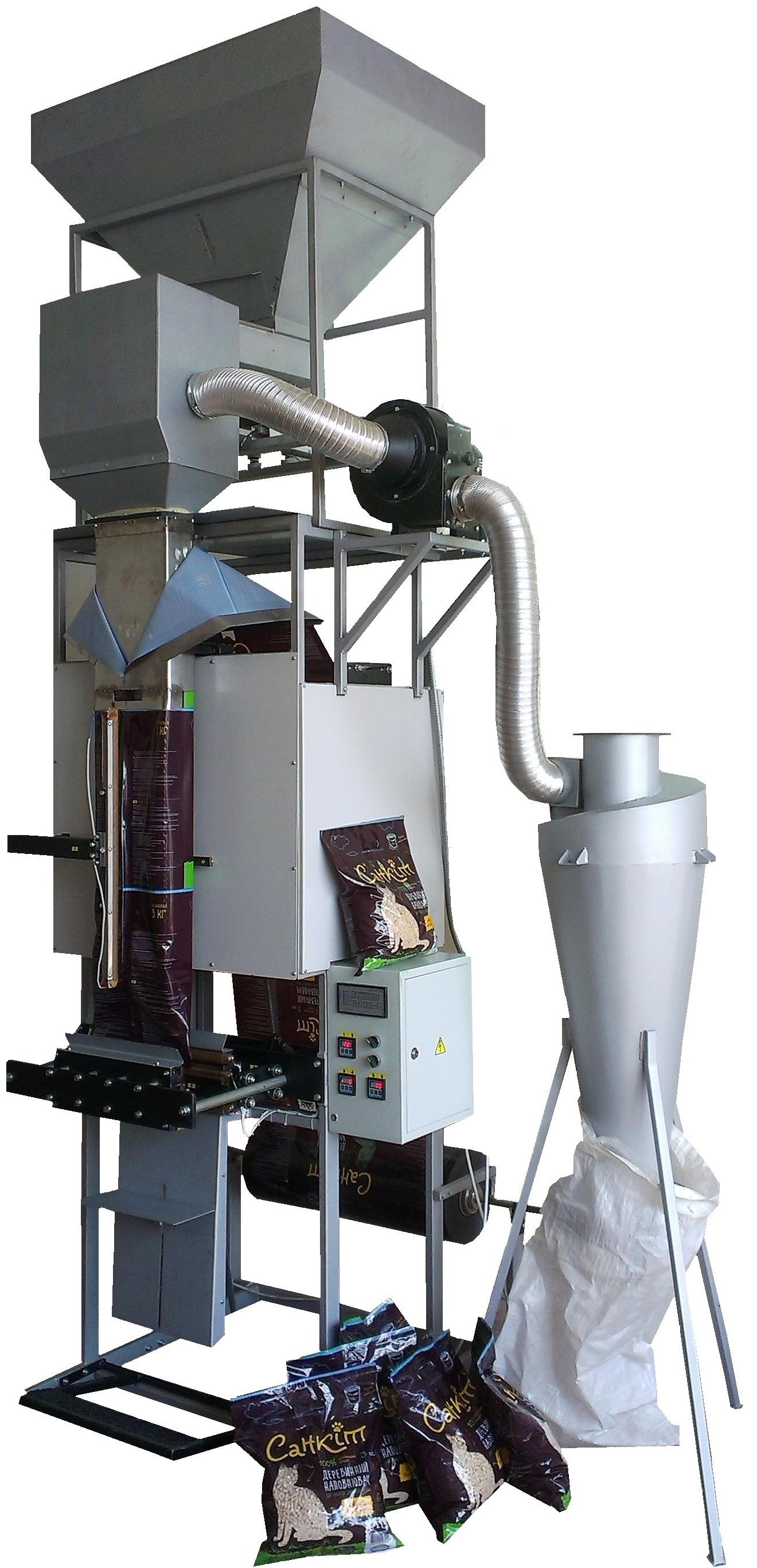Упаковочный полуавтомат для упаковки сыпучих продуктов от 3 - 5 кг